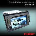 Cs-t016 tela de toque em- dash carro rádio gps dvd para lexus lx470 2002-2007