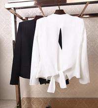 Z71263A 2014 Korean AUTUMN FASHION Back split woman coats