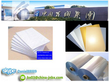 0.18mm/0.15mm Thick Manufacturer White/Silver/Golden Inkjet PVC Sheet
