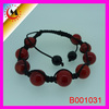 THE FASHION TREND IN EUROPE AND AMERICA ROSE QUARTZ ROUND BEAD BRACELET