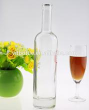 500ml glass bottle glass bottle wedding invitations glass bottle factory