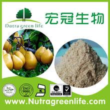 Pera secas concentrado de jugo en polvo