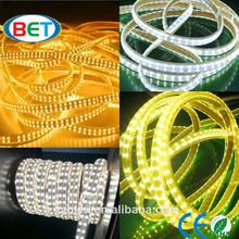 Double row led strip SMD5050 CE RoHS 144leds/m 120v 240v Ce&rohs led strip light mounting clips