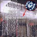800 luces LED cortina para boda Navidad,fábrica de venta al por mayor