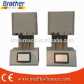 Laboratorio dental pantalla LCD circona sinterización horno microondas