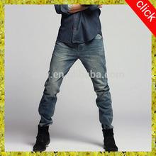 2014 design men jeans European hip hop ripped best jeans pants for men, trendy innovation fashion denim jeans oem service