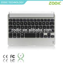 aluminum wireless bluetooth keyboard cover for iPad mini CE/FCC/ROHS