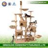 2015 QQAimigou Wholesale SGS E1 Board Luxury Wooden Indoor Cat House