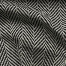 low price free shipping polyester black herringbone for sofa/blue cream herringbone natural fabric for garment