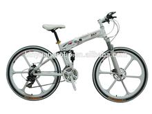 Magnesium alloy wheel mountain electric bike lithium battery TDF-37-UW