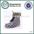 De plástico de agua de invierno zapatos botas calientes shoes|b- 817