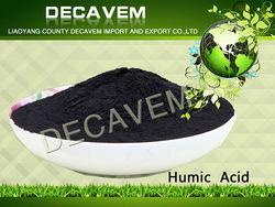 Humic Acid 70% organic matter85%, humic acid Leonardite/Lignite, humic acid foliar spray fertilizer