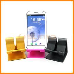Universal Cell Phone Aluminum Alloy Holder For iPhone Samsung LG Sony Cell Phone Aluminum Alloy Holder