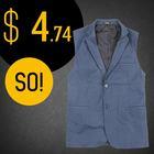Updated promotional sports vest for men custom vest
