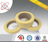 Hot yellow masking crepe adhesive tape for the car painting