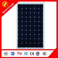 Tianzhiyuan sumthor Solar panel Monocrystallinesolar cell 156*156 60pcs solar panel 270w ST270D-24