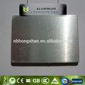Color plata panel compuesto de aluminio/acp/alucobond/precio de alucobond