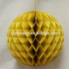 Wedding/Birthday Favor Metallic honeycomb ball