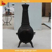 High quality bronze custom garden clay chimineas