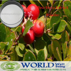 100% Pure Bearberry Extract Alpha Arbutin Powder Skin Whitening Bearberry Extract/Bearberry powder
