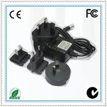 OEM travel adapter plug korea 5v 1amp 5w for US/UK/AU/EU markets