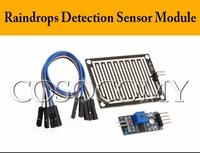 High quality Raindrops modules / rain sensor module / sensor module large raindrops Detection Sensor Moduel Humidity
