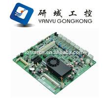 6 Lan Intel Atom D2550 Firewall motherboard / Router board