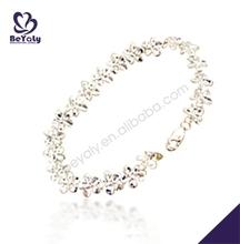 women stylish genuine sterling silver 925 bracelet jewelry