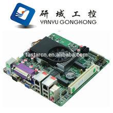 H25-2D6 mini ITX motherboard Intel Atom D2550 POS motherboard DC 12V