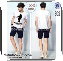 Men Summer T-shirts Call Of Duty Black Ops Icon Tshirts T Shirts Cotton Short Sleeve garment factories china