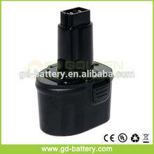 Dewalt 7.2V power tool battery, Replacement 7.2V Dewalt DE9057