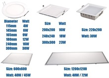 1-10v / c-buc/ triac dimmable 40w 60*600 600x1200 led panel light qualified