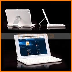 Wireless 360 Degree Rotating Bluetooth Keyboard For iPad Mini Rotating Bluetooth Keyboard Case