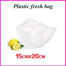 15cm*20cm plastic wrap bag vacuum fresh piece sealer transparent for selling goods packaging