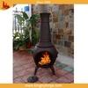 Homes and gardens garden cast iron chiminea