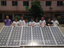 High Efficiency Monocrystalline Silicon and polycrystalline Silicon Solar module