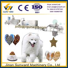 Bulking machine type animal food manufactruing plant, dog food making machine