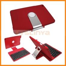 Practical Design Rotating Bluetooth Keyboard Case For iPad Mini 2 360 Rotating Bluetooth Keyboard Case