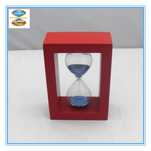Big Sale!!! Colorful 5 Mins Wooden home decor sand timer Hourglass for Promotion