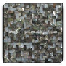 Guangdong factory black shell ceramic mosaic tiles
