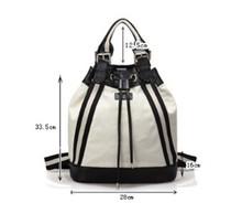hot popular laptop backpacks bags for girls 2012 canvas backpacks for girls sequin backpack bag