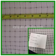 HDPE plastic knitted anti-bird netting