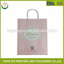 Wholesale Alibaba New style Fashion Plastic handle bag&luxury shopping paper bag