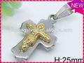 moderno design personalizzato gioielli di volo angelo immagine ala pendente tondo