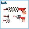 funny Spring Telescopic Fist Gun toy