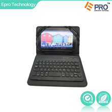 """vatop Mini detachable bluetooth keyboard with PU leather cover for 7"""" and 8"""" IOS, Andriod, Windows system tablet PC"""