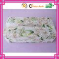 Luxe élégant gel fleur motif acrylique boîte de tissu pour beaucoup lieu fabricant