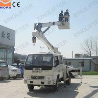 14m articulated heavy truck wheel lift