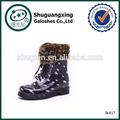 Stivale di gomma pioggia stivali da pioggia uomini stivali caldo shoes|b- 817
