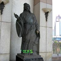 Famous Bronze Chinese artist sculpture